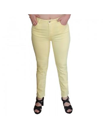 Pantalon jaune en coton