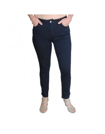 Pantalon marine en coton