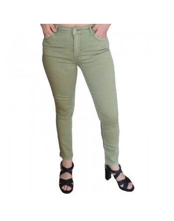 Pantalon kaki en coton