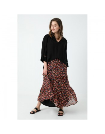 Longue jupe style bohême