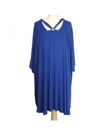 Long t shirt bleu