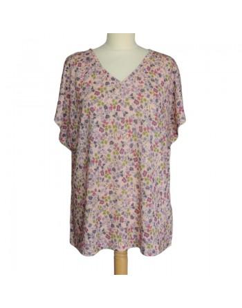 T shirt imprimé fleur