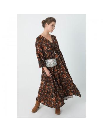 Longue robe style bohème