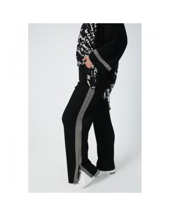 Pantalon maille noir